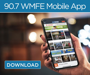 Get 90.7 WMFE's Free Mobile App
