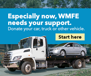 Especially now, WMFE needs your support.